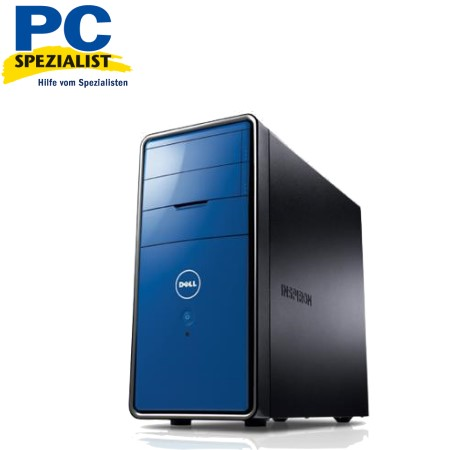 pc computer dell inspiron 560 blau e5700 4gb win7 neu ebay. Black Bedroom Furniture Sets. Home Design Ideas