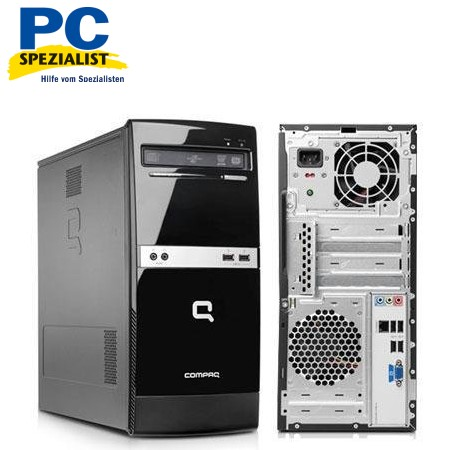 komplett pc hp compaq 500b mt e5800 2gb 320gb neu ebay. Black Bedroom Furniture Sets. Home Design Ideas