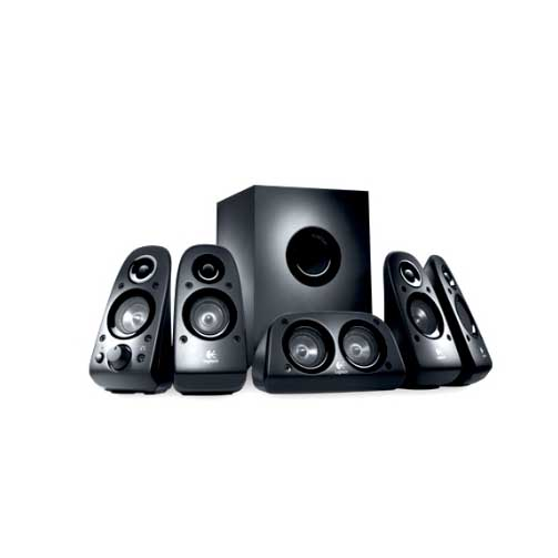 boxen logitech z506 5 1 speaker system soundsystem. Black Bedroom Furniture Sets. Home Design Ideas